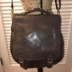 CC Skye Snakeskin Embossed Leather Onie Bag